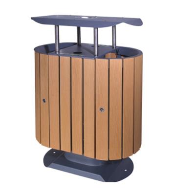 环保分类垃圾桶(塑木)