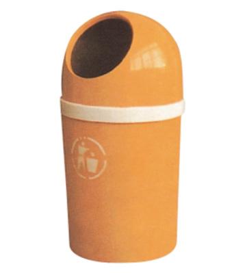 产品材质:欣方圳玻璃钢垃圾桶采用优质玻璃纤维与进口树脂着色