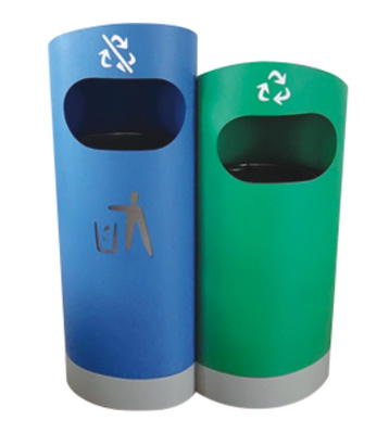 F182环保分类垃圾箱