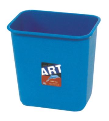 b50a方形无盖垃圾桶
