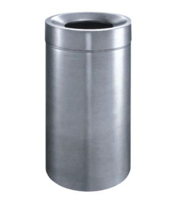 不锈钢类     产品规格:φ400*820mm     产品材质:不锈钢垃圾桶采