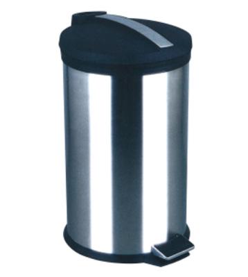 m02塑料平盖脚踏垃圾桶