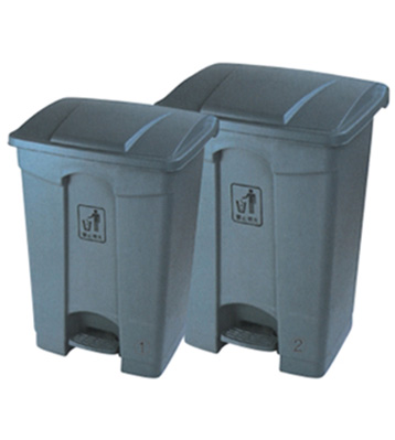 脚踏式垃圾桶