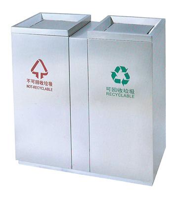 c275商场分类垃圾桶
