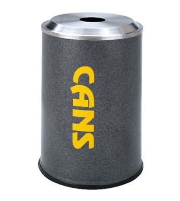 圆形垃圾桶铝罐