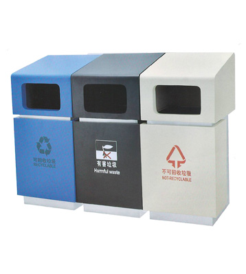 e150a商场分类垃圾桶