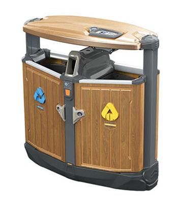 欣方圳精品垃圾桶广泛应用于机场,银行,广场,小区,街道,商场,高铁站