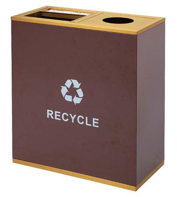 产品材质:商场垃圾桶