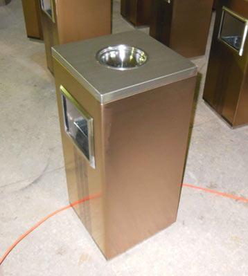 方形不锈钢垃圾桶-方形不锈钢垃圾桶厂家