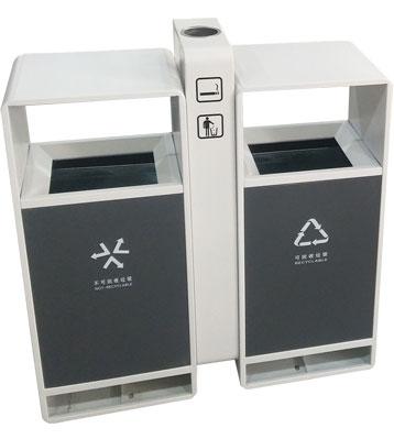 F330商场户外分类垃圾桶