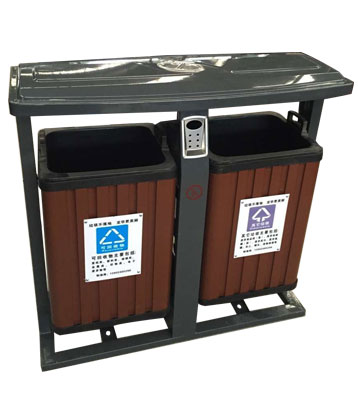G140塑木分类垃圾箱