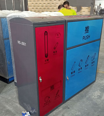 深圳南shan玻金塑纸分类la圾箱