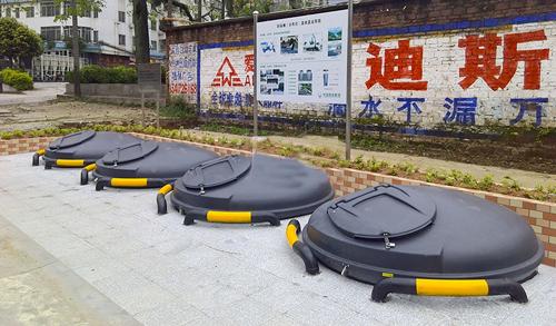 地埋式垃圾桶新模式运行试点