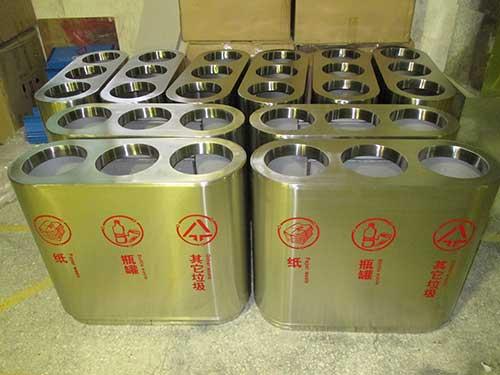 三分类不锈钢垃圾桶梅州小区的明智选择