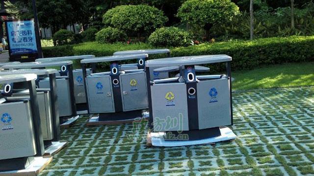 欣方圳垃圾桶厂家 为重庆江北区定制精品垃圾桶