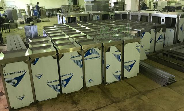 商场垃圾桶-商场不锈钢垃圾桶定制