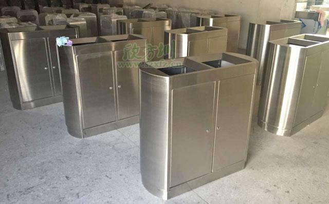 苏州商贸城不锈钢垃圾桶厂家品质有保障