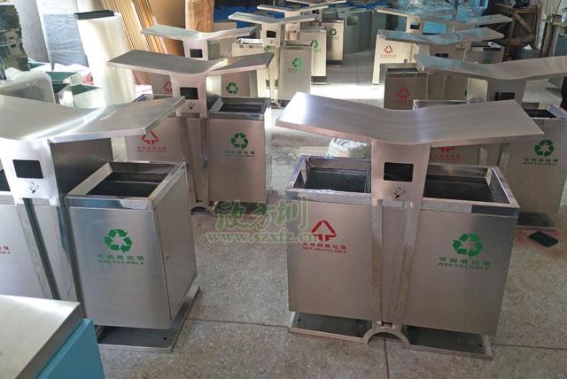 不锈钢户外垃圾桶即将开启无锡校园美好环境