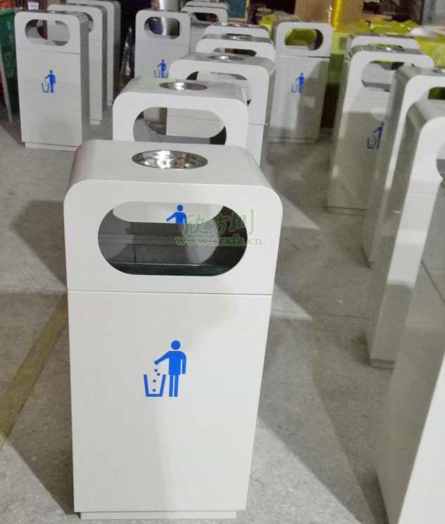 户外环保垃圾桶提升盐田现代产业大厦环境