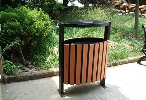 东莞虎门公园认可红树湾刚木垃圾桶