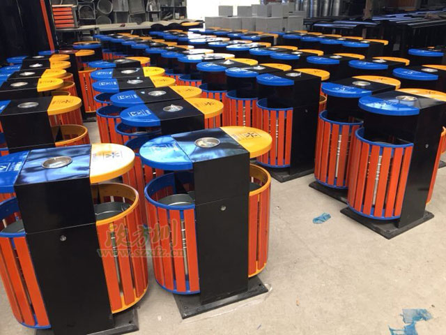 5A景区增至250个景区垃圾桶功不可没