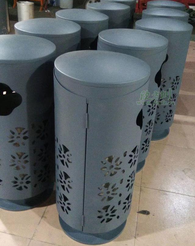 南京商场垃圾桶厂家定制集装饰艺术为一体