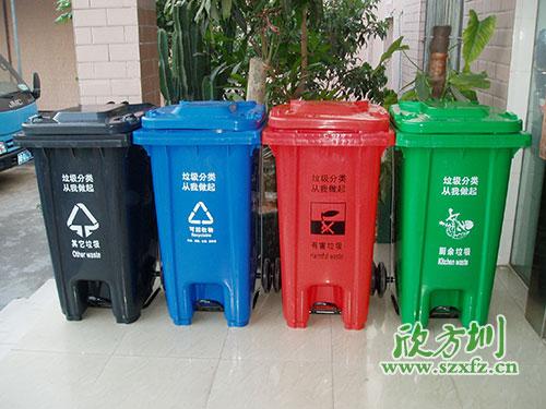 垃圾桶的小发明