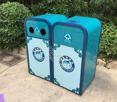 垃圾桶为华侨城的欢乐海岸