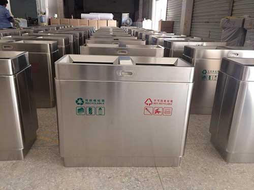 广州天河区小区不锈钢垃圾桶专业生产