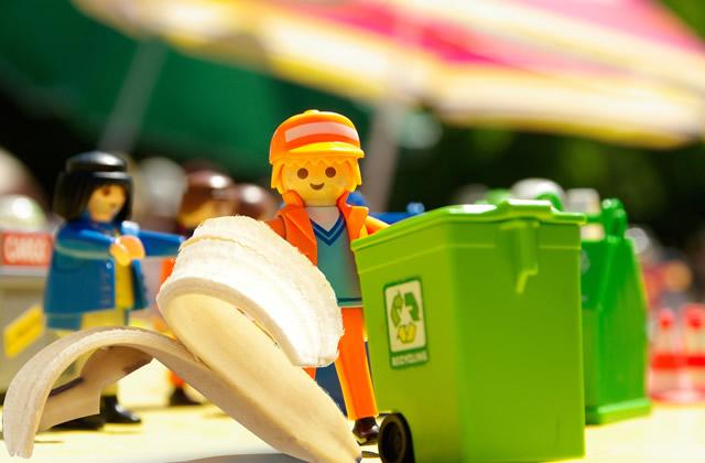 环保垃圾桶图片创意设计有助垃圾精准投放
