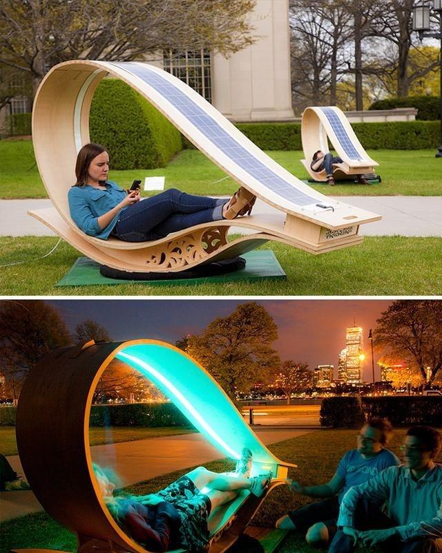 户外休闲椅子创意设计装饰公共空间艺术性