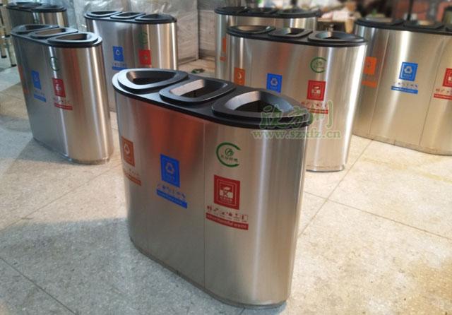 南宁垃圾桶厂家生产成品图