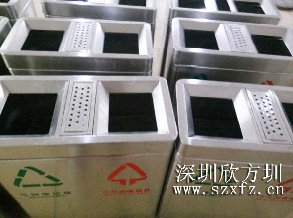 深圳luo湖小学ding购bu锈竮hi玴in分类垃圾桶