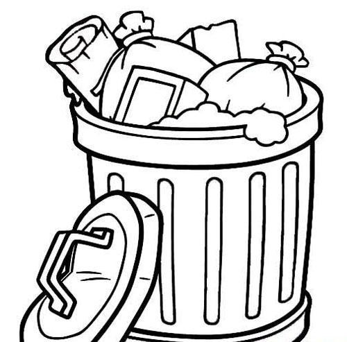 垃圾桶怎么画?跟厂家学迅速草图