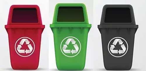 垃圾桶的分类标准