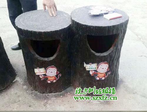 学校户外垃圾桶设计有什么特点
