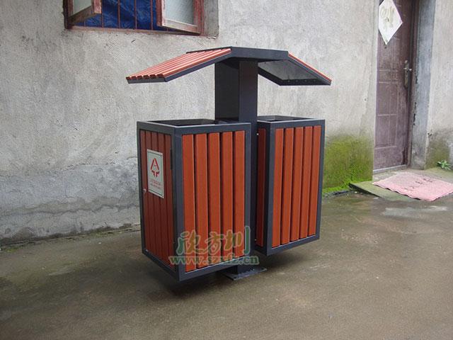 欣方圳钢木垃圾桶 重庆黔江区房产商的选择