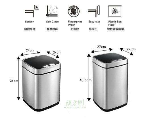 智能感应垃圾桶好用吗?先来了解产品制作原理